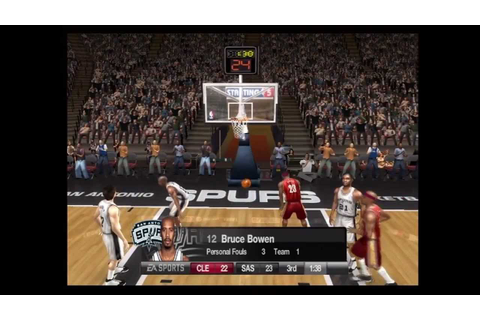 NBA Live '08 (Video Game) - Wii - YouTube