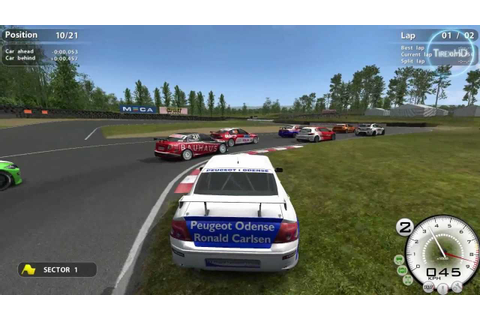 STCC The Game 2 HD gameplay - YouTube