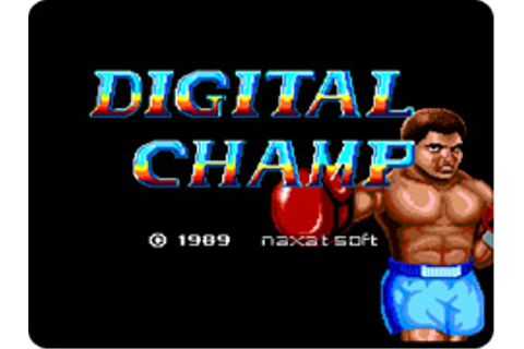Digital Champ: Battle Boxing - Wikipedia