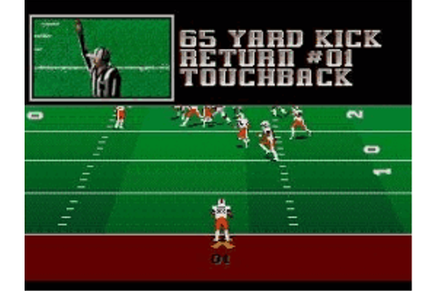 College Football USA '96 - Play Sega Genesis / Mega Drive ...