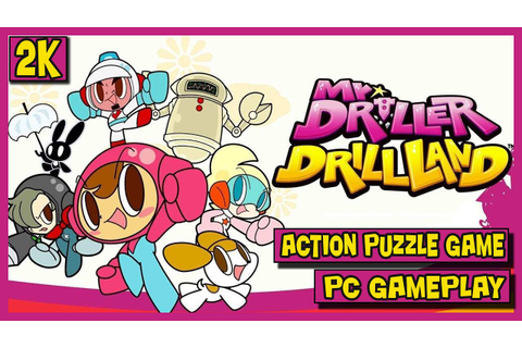 Let's Play Mr. DRILLER Drill Land - PC Gameplay , action ...
