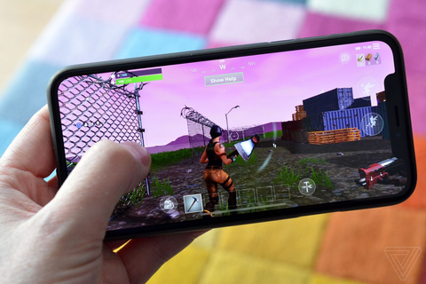 Fortnite on an iPhone X is an exciting look at the future ...
