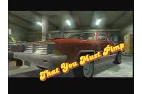 Pimp My Ride Video Game Trailer - YouTube