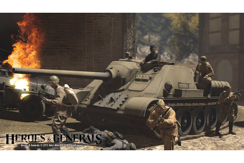Heroes & Generals Gameplay - SU - 85 - YouTube