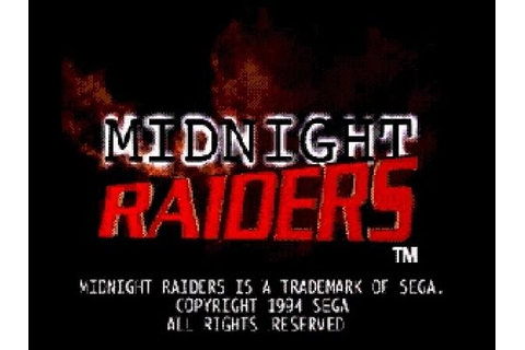 Mega-CD Longplay [022] Midnight Raiders - YouTube