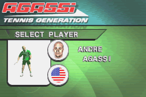 Agassi Tennis Generation Download Game | GameFabrique