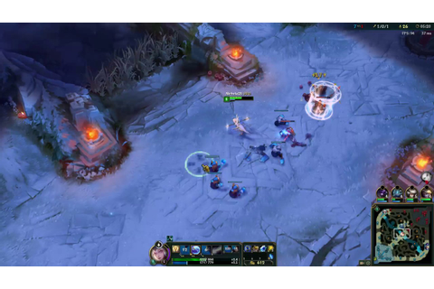 League Of Legends Elementalist Lux Game play Water+Air=Ice ...