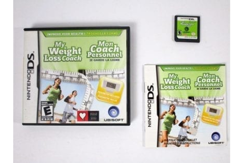 My Weight Loss Coach game for Nintendo DS (Complete) | The ...
