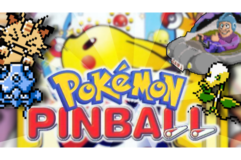 Pokémon Pinball | The Actual Best Pokémon Game! - YouTube