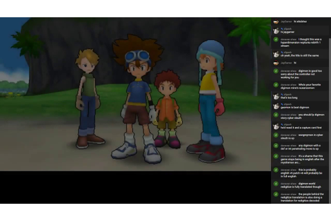 Digimon Adventure (PSP 2013) GAME ON! #1? - YouTube