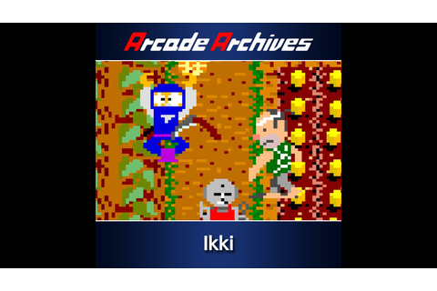 Arcade Archives Ikki Game | PS4 - PlayStation