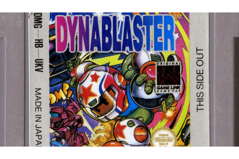 CGR Undertow - DYNABLASTER review for Game Boy - YouTube