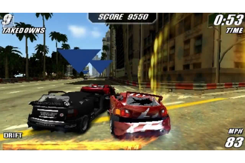 Burnout Legends : PlayStation Portable - YouTube