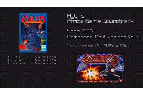 Hybris -= Amiga Game Soundtrack =- - YouTube