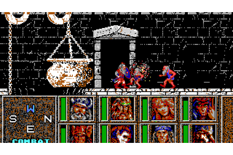 Heroes of the Lance (PC/DOS) Longplay, 1988, AD&D, SSI ...