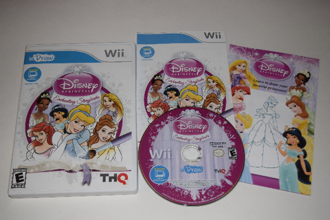 uDraw Disney Princess Enchanting Storybooks Nintendo Wii ...