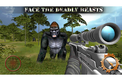 Gorilla Animal Hunting - Free - Android Apps on Google Play