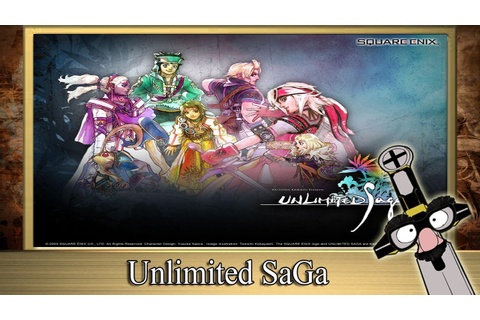 The RPG Fanatic Review Show - ★ Unlimited Saga Review ...