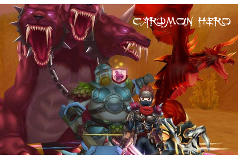 CardMon Hero on Qwant Games