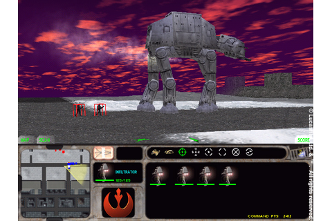 Star Wars Retro games: Force Commander