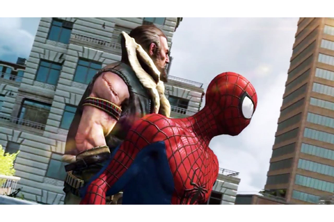 The Amazing Spider-Man 2 The Video Game Trailer (PS4 ...