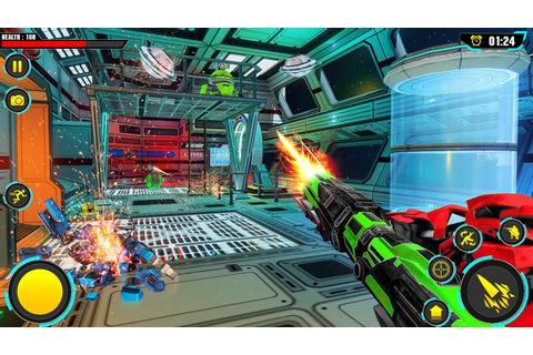 Space Robot Wars – Robot Gun Fight FPS Games for Android ...