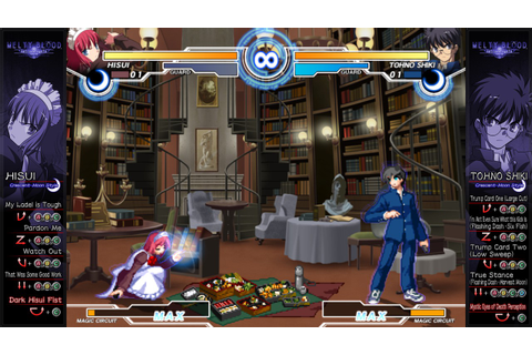 Melty Blood: Actress Again Current Code Review | Hey Poor ...