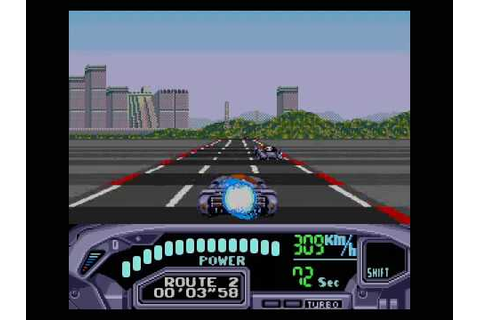 Sega Genesis games - OutRun 2019 - stage 1 - YouTube