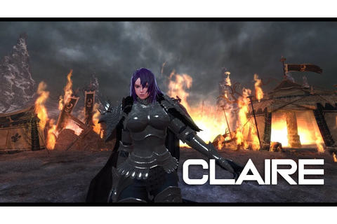 vindictus test - Inquisitor Claire party play / 인퀴지터 클레르 ...