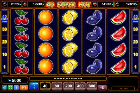 40 Super Hot Slot (EGT) Free Play Demo & Review ...