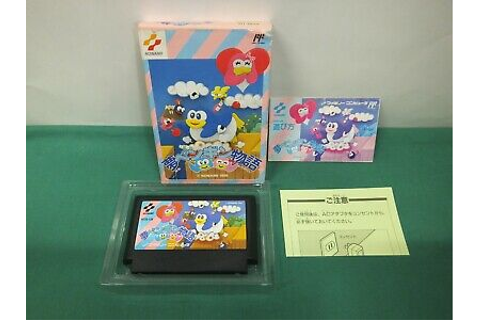 NES -- Yume Penguin Monogatari -- postcards. Boxed ...
