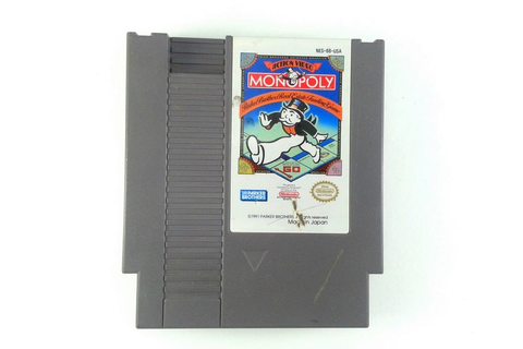 Monopoly game for NES (Loose) | The Game Guy