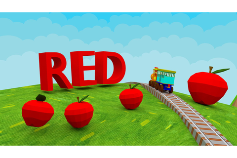 Learn Colors - 3D Train Game For Preschool Kids - Android ...