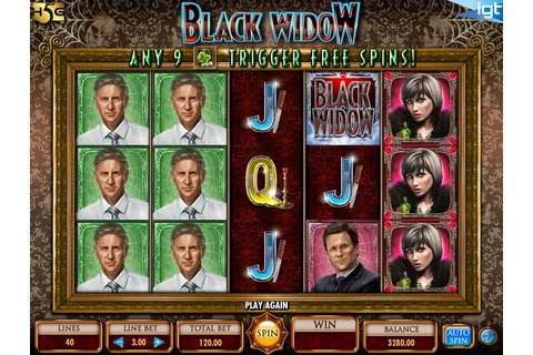 Black Widow Slot Game by IGT