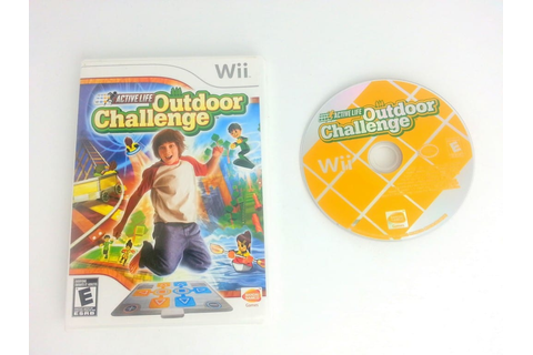 Active Life Outdoor Challenge game for Wii | The Game Guy