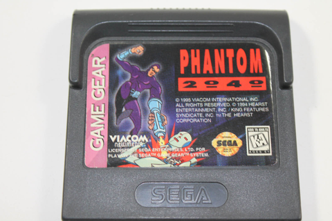 Phantom 2040 - Sega Game Gear