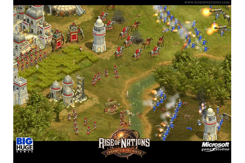 Screenshot image - Rise of Nations: Thrones and Patriots ...