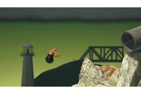Getting Over It with Bennett Foddy Trailer - YouTube