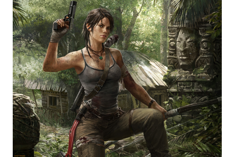 video Games, Lara Croft, Tomb Raider, Gun Wallpapers HD ...