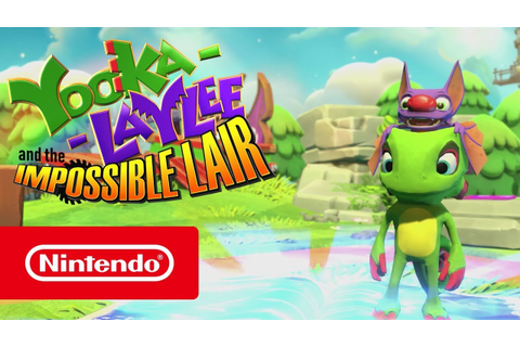 Yooka-Laylee and the Impossible Lair - Reveal Trailer ...