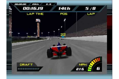 Indy Racing 2000 Nintendo 64 Gameplay - YouTube