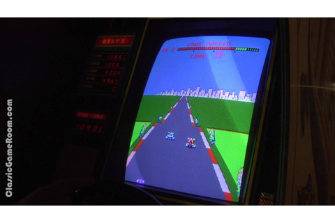 Classic Game Room - TURBO arcade game review - YouTube