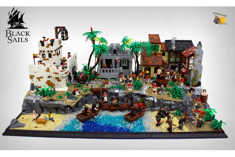 Black Sails, l'âge d'or de la piraterie - HelloBricks ...