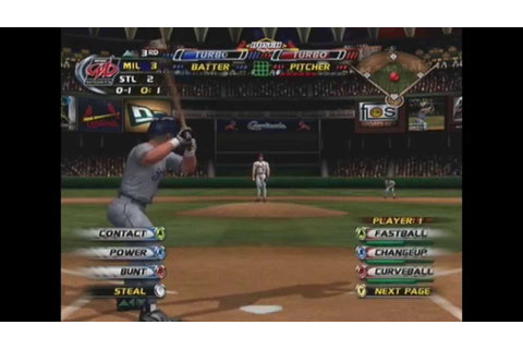 MLB Slugfest 2004: St. Louis Cardinals vs. Milwaukee ...