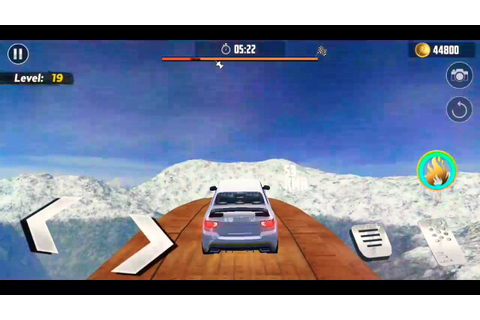 Impossible track stunt car racing fun. Car game - YouTube