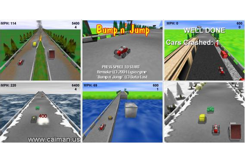Caiman free games: Bump n' Jump by Lysozyme.