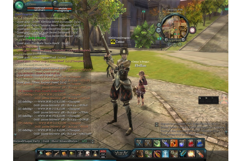 NoobsBazaar: Aika Online: Awesome MMORPG