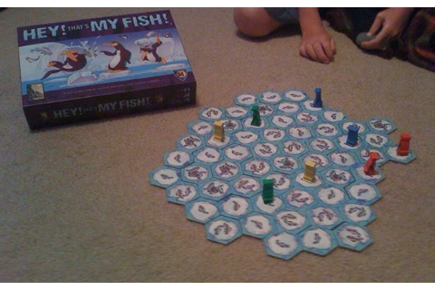 Hey! That's My Fish! Review | Board Game Reviews by Josh