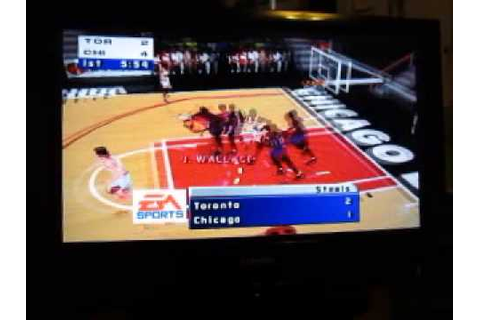 NBA Live 99 Nintendo 64 Game: Part 1 - YouTube