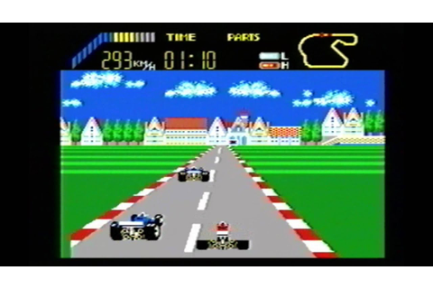 Classic Game Room - WORLD GRAND PRIX for Sega Master SMS ...